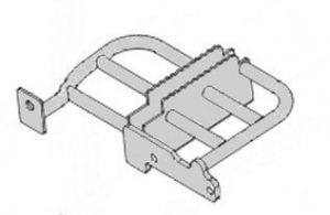 Кронштейн опоры для ног правый (двухместное сиденье) Stels ATV 500GT