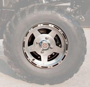 """Диск 12"""" переднего колеса (легкосплавный) HiSun 4x110"""