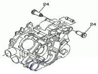 Салентблок крепления двигателя Stels ATV 450 HiSun