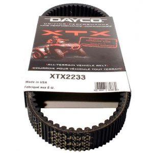 Ремень вариатора XTX2233 Dayco 943x33 Yamaha, HiSun ATV/UTV (усиленный)