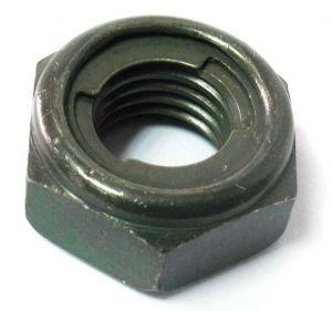 Гайка самоконтрящаяся M10x1.25мм, сталь