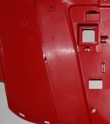 Пластик передний облицовочный, крылья (красный), Stels 700H/500H (EFI)