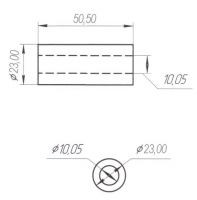 Сайлентблок 50х28 рычага передней/задней подвески (NEW) Stels ATV 450/500/700 HiSun,UTV 800 HiSun