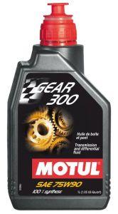 MOTUL Gear 300 75W90 (1 литр) для спортивной техники
