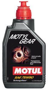 MOTUL Motylgear 75W90 (1 литр) для механических КПП и мостов
