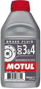 MOTUL DOT 3 & 4 Brake Fluid (0,5) тормозная жидкость 245°C